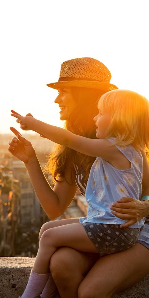 10 destinos de viagens para 10 perfis de mães