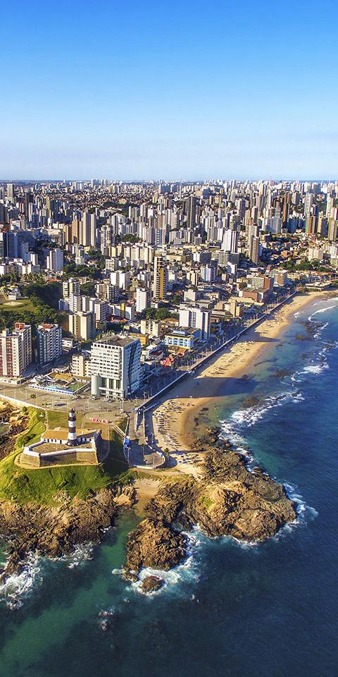Salvador, a capital da alegria do Brasil!
