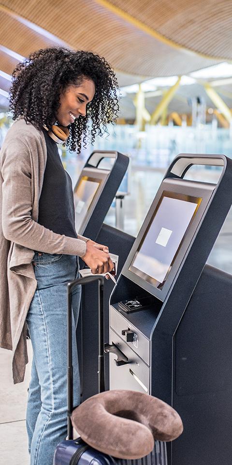 Como fazer novo check-in em voos com conexão