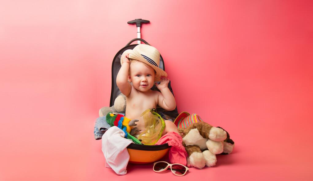 Bagagem despachada de bebês