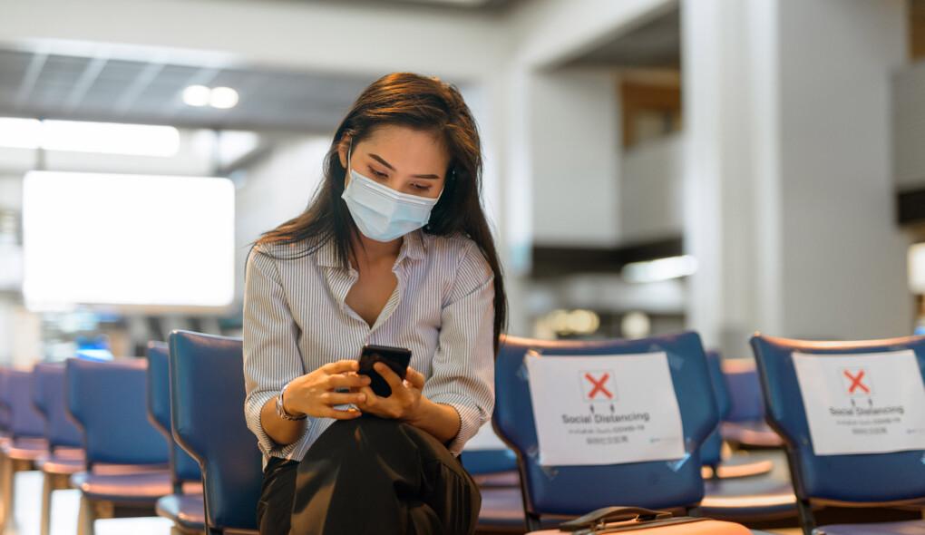 Tipos de máscaras aceitos e proibidos a bordo pela LATAM