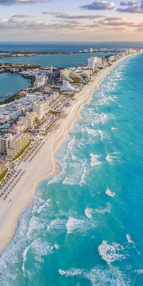 Cancun: um paraíso de luxo, praias e muita diversão