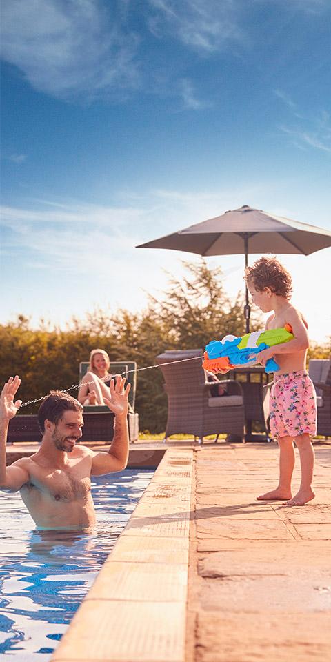 Resorts para curtir o feriadão em família
