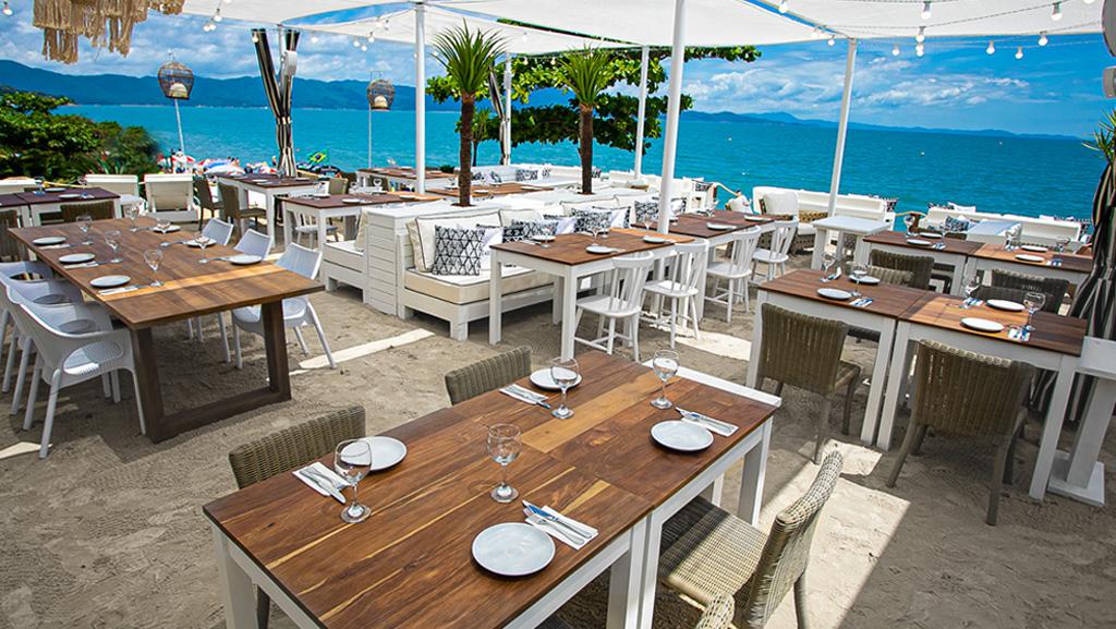 Restaurante Acqua Plage, em Jurerê Internacional