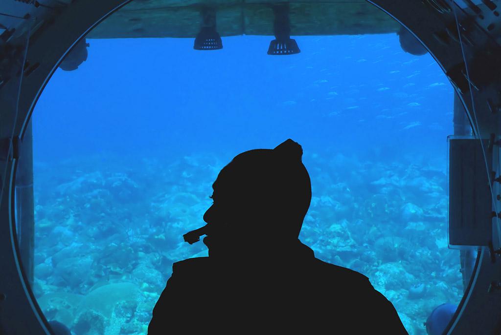 Submarino Atlantis, Barbados