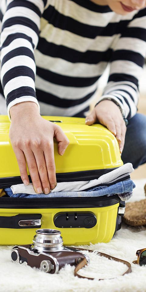 Dicas para viajar só com bagagem de mão